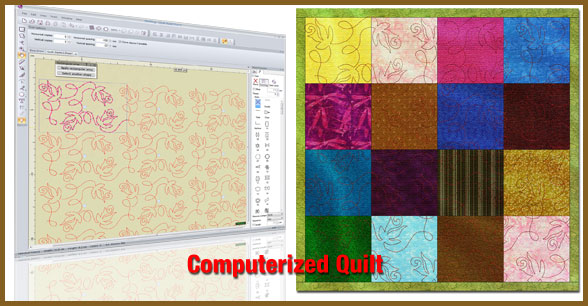 Computerized quilting