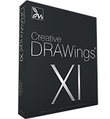 Creative DRAWings Embroidery software box