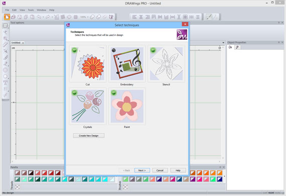 DRAWings 8 embroidery software has been released!