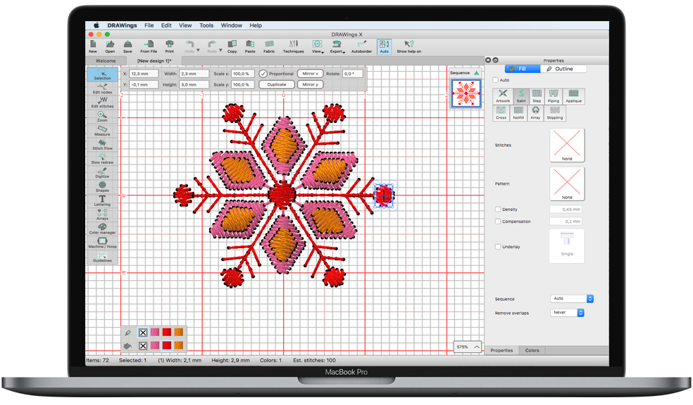 DRAWings PRO X on MAC OS
