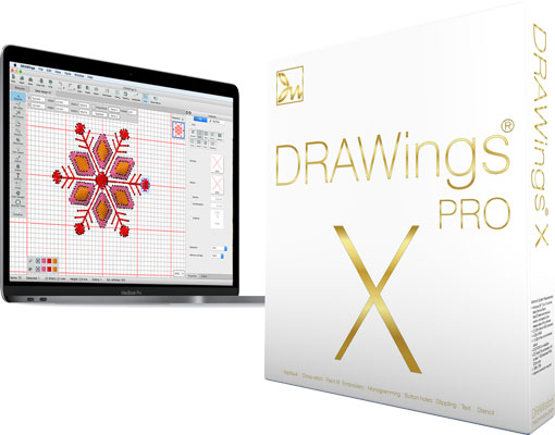 DRAWings X Embroidery software