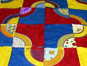 Quilt blanket embroidery design